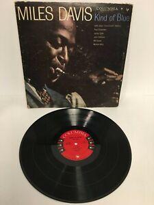 "Miles Davis Kind Of Blue VG vinyl Columbia 6 eye Deep Groove 1959 ""misprint"""