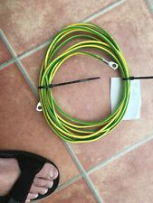 Earth Yellow Green Copper 10mm 5 Meters