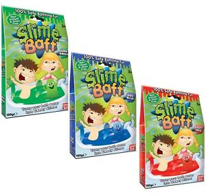 SLIME BAFF Red, Blue and Green - Bundle (3 ITEMS) - Gelli Baff Jelly Bath