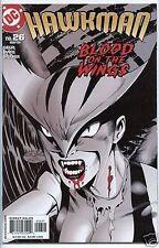 Hawkman 2002 series # 26 near mint comic book