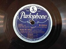 78obrotów Gene Krupa - Blues For Israel / Three Little Words Parlophone R2224
