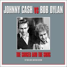Johnny Cash Vs Bob Dylan - The Singer And The Song (180g 2LP Red Vinyl) NEW