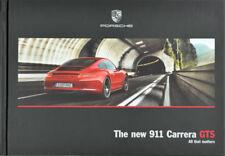 Porsche 911 Carrera GTS hardcover Japanese brochure book 10/2014