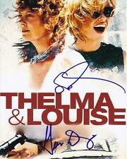 SUSAN SARANDON & GEENA DAVIS Signed Autographed THELMA & LOUISE Photo