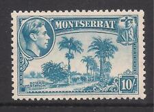 MONTSERRAT  1938-48  10s pale blue  p12  SG111  MM