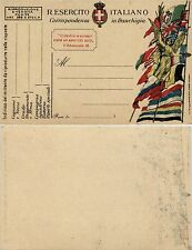 FRANCHIGIA - VITTORIA ALATA 1918 - F25 leggero decalco della vignetta - Nuova