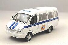 """GAZ 2705 """"GAZel"""" USSR POLICE MILITCIYA RARE Collection Model Car 1/34 scale"""