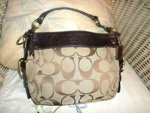 "Genuine COACH Leatherware BROWN PURSE / HANDBAG w/ Tag- ""classic"""