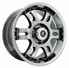 (1) REMINGTON Wheels Rims TROPHY 20x9.0 6x139.7 et0 Bright Chrome