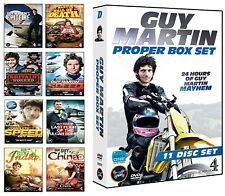 GUY MARTIN'S 'PROPER BOX SET' (2014-2017) Guy Martins COMPLETE DVD Collection UK