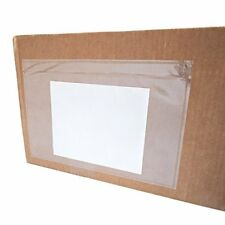 """6""""x9"""" Clear Envelope Pouches Slip Plastic Self Adhesive Shipping Label / Packing"""