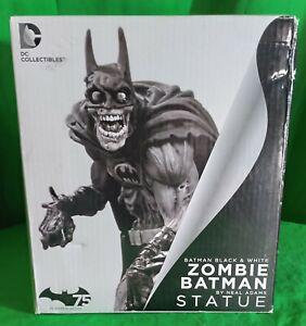 BATMAN Black and White ZOMBIE Batman Statue #290/5000 SIDESHOW DC COMICS NIB