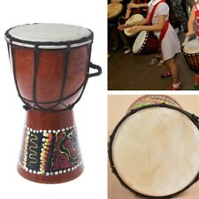 Professional African Djembe Drum Bongo Wood Good Sound Musical Instrument 4 inch