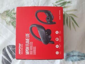 Mpow Flame Lite Wireless Bluetooth 5.0 Headphone HiFi Bass Earphone Ear-hook Mic