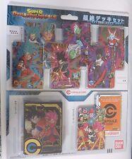 Dragon Ball Heroes Chosetsu Deck Set 6 Cartes Promo + 1 Avatar + 1 Deck BOX NEW