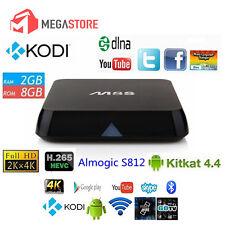 ANDROID BOX M8S 4K TV BOX SMART TV IPTV QUAD CORE RAM 2GB MINI PC WIFI M8