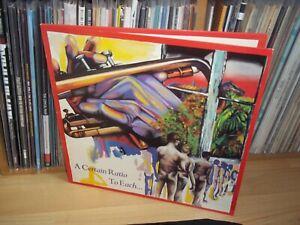 A CERTAIN RATIO To each... UK 1981 FACTORY FACT 35 original LP Full Play Test