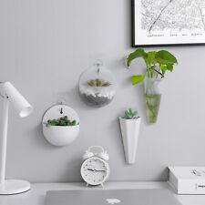 Hydroponic Wall Hanging Vase Flowerpot Dill Plants Pots Planter Home Art Decor
