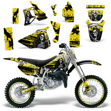 Graphic Kit Honda CR 80 MX Dirt Pit Bike Decals Sticker Wrap CR80 96-02 REAP YLW