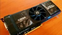 EVGA NVIDIA GeForce GTX 590 Classified 3 GB Graphics Card PCI-E DVI