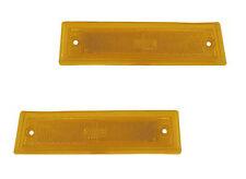 Pair Side Marker Lights - L & R Sides - Fits Chevrolet / GMC w/out Chrome Trim