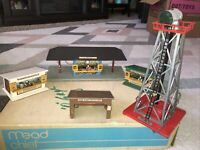 American Flyer Vintage 4 PieceBuilding Set With Tower