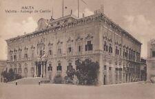 MALTA : Valletta-Auberge de Castille-COLEIRO