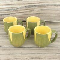 Lot of 4 Vintage Shawnee Pottery Corn King Mug Mugs