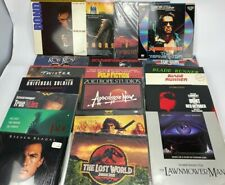 Laserdisk Movie Lot of 20 Collection of Action, Suspense, Thriller Movies