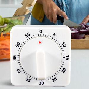 Kitchen Cooking Baking Timer Countdown 60 Minutes Alarm Reminder Mechanical Time