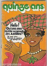 Quinze ans N°104 de mai 1974 Gérard Lenorman France Gall Divers travaux manuels