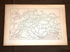 Carta o Cartina di Venezia Trento Trieste Verona Vicenza Treviso