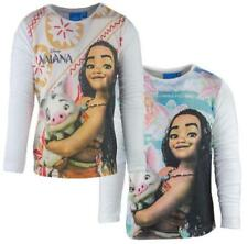 Vaiana Mädchen-T-Shirts & -Tops mit Rundhals-Ausschnitt aus 100% Baumwolle