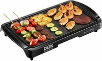 Deik Electric Griddle, 2-in-1 Indoor Grills + Griddle AN15G