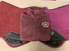 Ladies Ariat XL Zip Up Fleece Jacket Equestrian Riding Uk 14 - 16