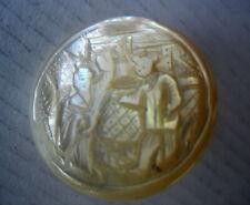 BOUTON ANCIEN NACRE CICELE   -  OLD BUTTON   22mm
