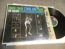 Swim Swim C'mon And Swim by Ray Anthony LP SHRINK CHEESECAKE SEXY COVER
