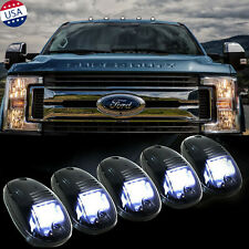 5x Smoked Lens Roof Lamp Rooftop Driving Light for Ford F-150 F-250 F-350