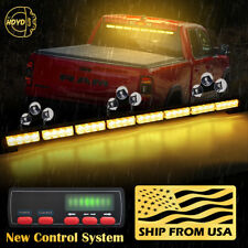 "35"" 32 LED Amber Yellow Emergency Warning Traffic Advisor Arrow Strobe Light Bar"