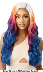 ZAHARA by OUTRE Color Bomb Synthetic Swiss Lace Front Wig
