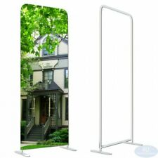 Ez Tube Tension Fabric Display Frame Straight Booth Exhibit Show Stand 24x90