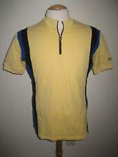 Nabholz Germany yellow wool jersey shirt cycling maillot maglia trikot size L