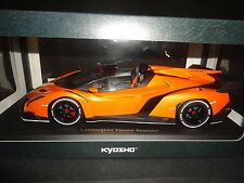 Kyosho Lamborghini Veneno Roadster Orange 1/18