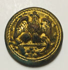 CIVIL WAR Naval COAT BUTTON EXTRA QUALITY With Clip Holder On Back