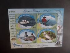 Papua New Guinea 2010 Game Fishing MS MS1412 MNH UM unmounted mint