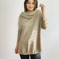 Joie Wool Cashmere Cowl Neck Sweater Women's Size Large