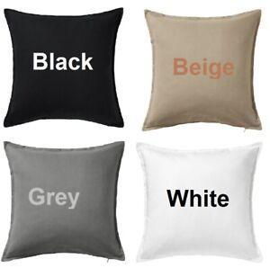 IKEA GURLI Cushion Cover 100% Cotton Cushion Cover 4 Colours 50x50cm Brand New