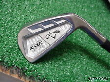 Nice Callaway Razr X Forged Cavity 6 Iron Project X 5.5 Steel