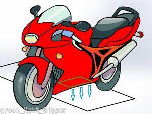 ACTIVE Green Light Trigger v3, Parking Garage Opener for Motorcycle