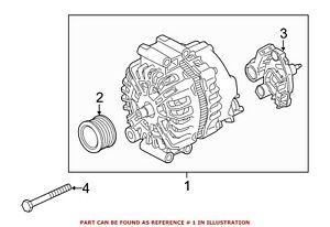 For BMW Genuine Alternator 12317603782